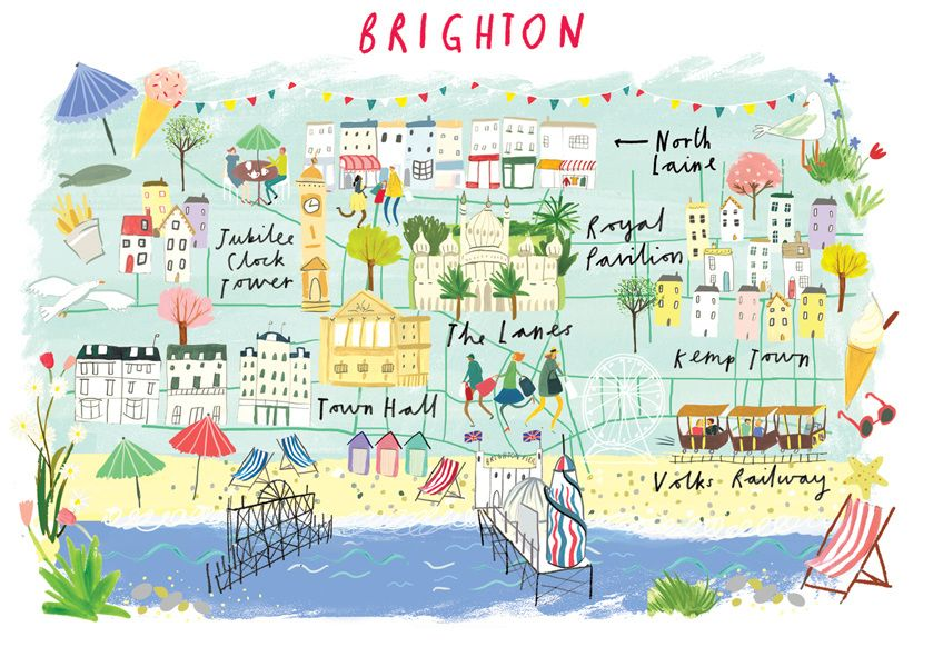 Brighton glazier Map